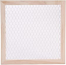 Darice SS-DAR-9190-9635 9190-9635 Unfinished WOO Chicken Wire Frame 12X12, Multi