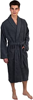 Men's Robe, Turkish Cotton Terry Shawl Bathrobe