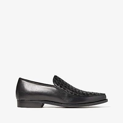 Bottega Veneta Chet Intrecciato Loafer (Black) Men