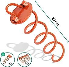 Dicker riijk Stahl Bodenanker mit besonders gro/ßem Spiraldurchmesser als sichere Alternative zu Hering und Erdanker Schwerer und st/ärker