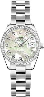 Women's Rolex Lady-Datejust 26 Mother of Pearl Oystersteel Diamond Watch (Ref. 179384)