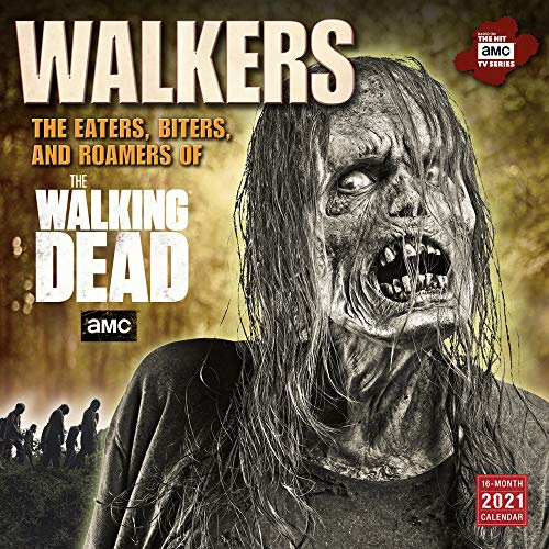Walkers - The Eaters, Biters and Roamers of Walking Dead - 16-Monatskalender 2021: Original BrownTrout-Kalender [Mehrsprachig] [Kalender] (Wall-Kalender)