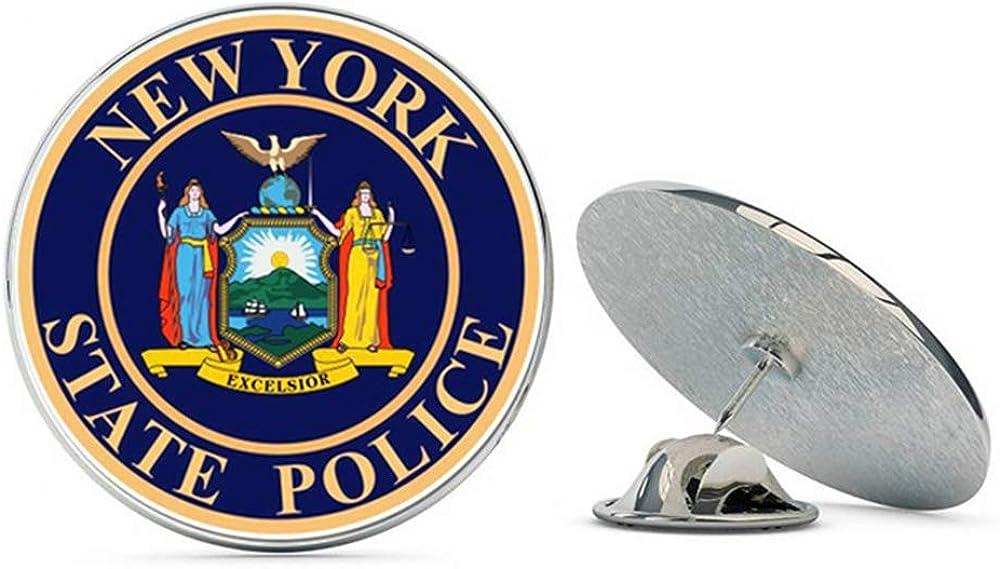 NYC Jewelers New York State Police Metal 0.75