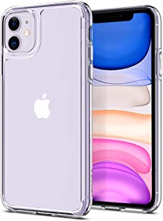 Spigen Quartz Hybrid Designed for Apple iPhone 11 Case (2019) - Crystal Clear