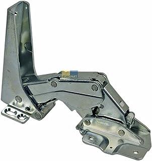 2 piezas de bisagra de puerta hembra de repuesto para Bosch 00169301 169301 Miele 5384490 bisagra de puerta de frigor/ífico