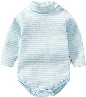 BABIFIS, BABIFIS Mono de bebé, Unisex Bebé Otoño e Invierno Calcetín de algodón Triángulo de Manga Larga Bebé Siamés Siamés Bolso de Cuello Alto Bolso