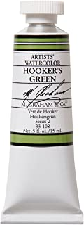 M. Graham 1/2-Ounce Tube Watercolor Paint, Hookers Green