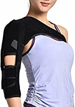 Shoulder Support Brace, Arm Shoulder Brace with Adjustable Strap for Shoulder Pain, Sprain, Labrum Tear, Tendinitis,Soreness, Bursitis (Right Shoulder)