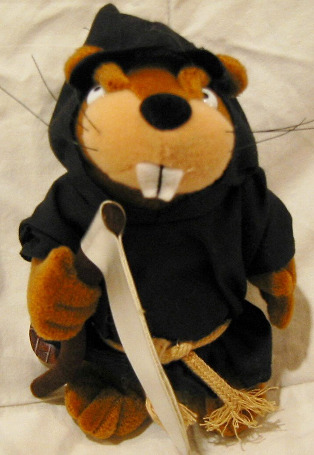 GRIM BEAVER  MEANIES  Series 3  Bean Bag Plush Toy From The Idea Factory
