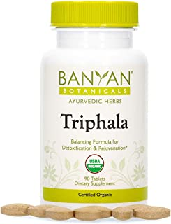 Sponsored Ad - Banyan Botanicals Triphala Tablets - Organic Triphala Supplement with Amla, Haritaki & Bibhitaki – for Dail...