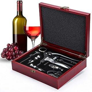 Beauenty Wine Opener Set,Rabbit Red Wine Corkscrew Bottle Opener Accessories Manual Wine Remover Screwpull Tool Kit Stoppe...
