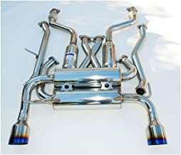 Invidia HS02N3ZGIT Gemini Single Layer Cat-Back Exhaust System with Titanium Tip for Nissan 350Z