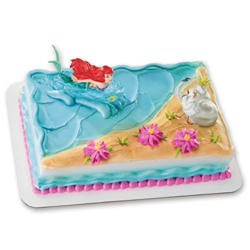 Little Mermaid Cake Topper Amazon Com
