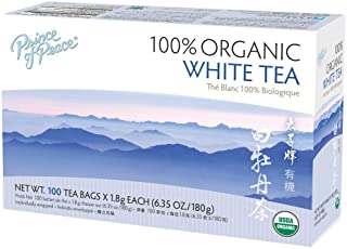 Prince of Peace Organic White Tea 100ct