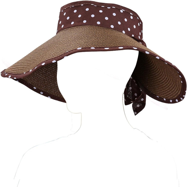Aerusi Women's Polka Dot Summer Sun Hats