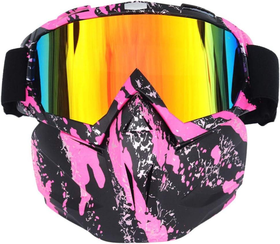 Taurusb Gafas Protectoras, Hombres Mujeres Montar La Snowboard del Esquí De Motos De Nieve Gafas Máscara De La Nieve del Invierno De Esquí del Esquí Anti-UV A Prueba De Agua Motocross Gafas