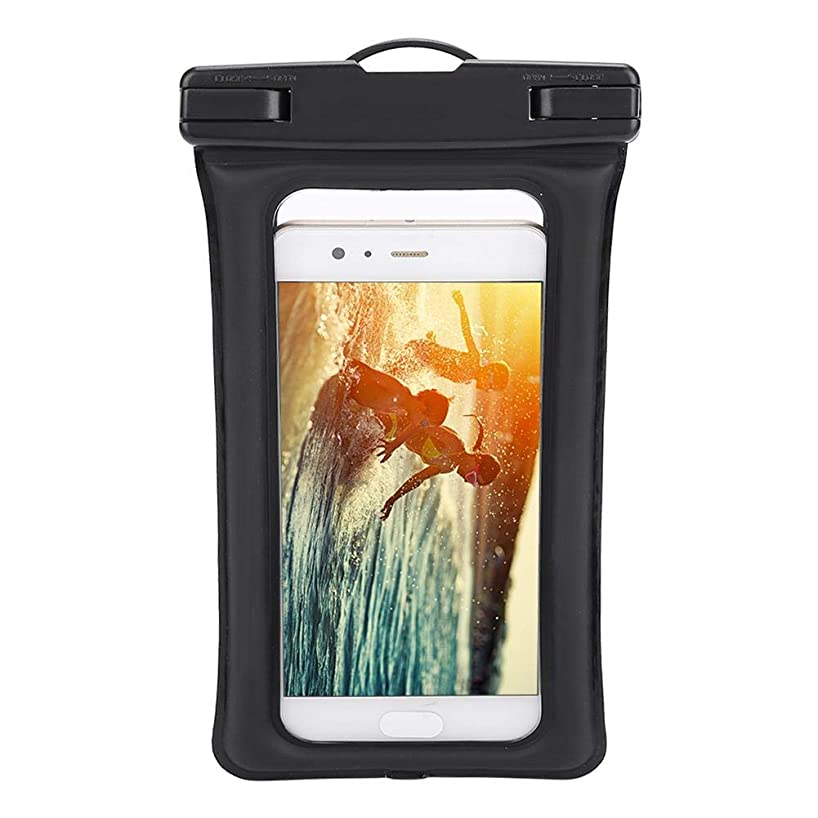 Vbestlife. Waterproof Phone Pouch IPX8 Universal Waterproof Phone Case Underwater Dry Case Bag Floaty PVC Phone Bag Pouch Case with Neck Strap Compatible Multiple iPhone Models for Outdoor