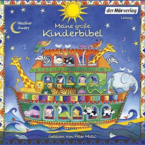 Meine große Kinderbibel audiobook cover art