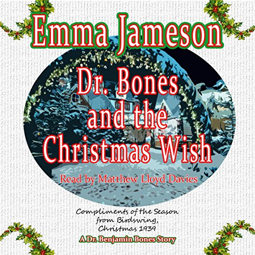 Dr. Bones and the Christmas Wish audiobook cover art