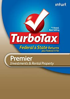 TurboTax Premier Federal + e-File + State 2010 [Download] [OLD VERSION]