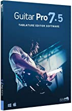 Guitar Pro 7.5 - Tablature and Notation Editor, Score Player, Guitar Amp and FX Software
