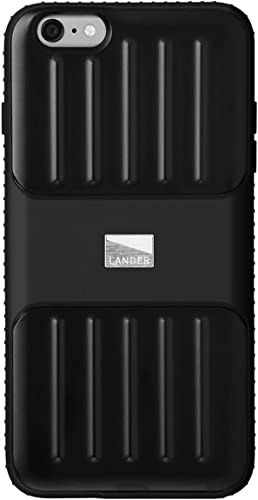high quality Lander - Powell Case for iPhone 6/6S online Plus, Military 810 Drop Tested online sale (Black) sale