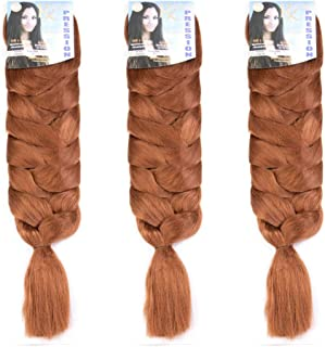 Best kanekalon braiding hair 3 pack Reviews