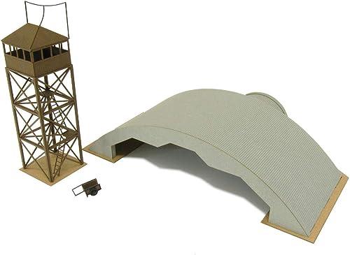 calidad garantizada 1 144 de la aviacioen durante la guerra guerra guerra base aerea de serie escena bunker MK08-10 (Arte de papel)  caliente