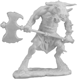 Reaper RPR77251 Bones Bloodhoof, Minotaur Barbarian Miniature