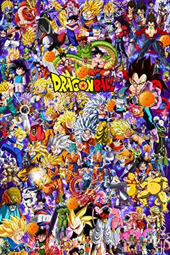 Spetich Dragon Ball Rompecabezas De Madera Personalizado