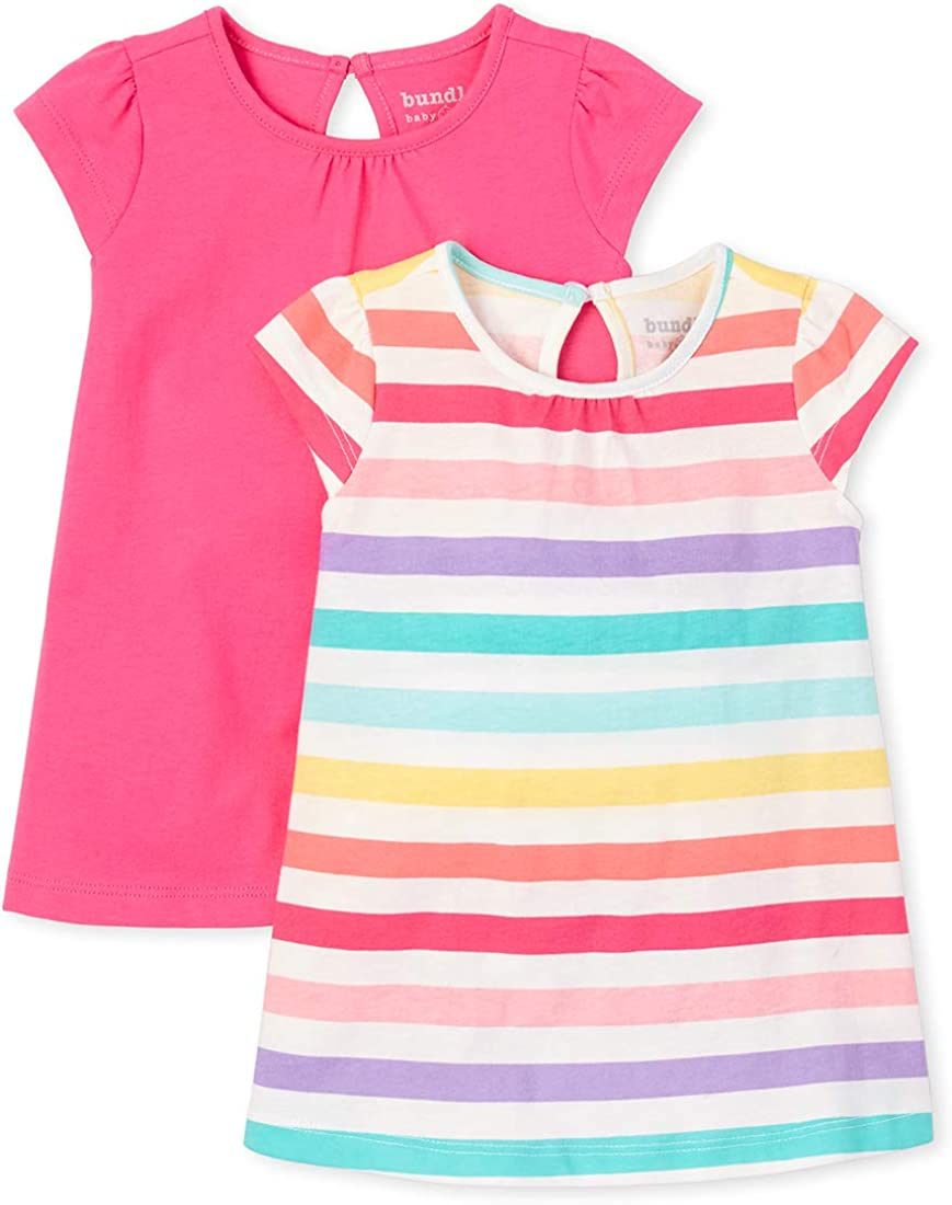 The Childrens Place Baby Girls 2 Pack Short Set