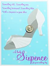 Ivy Lane Design Lucky Sixpence for Your Shoe