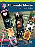 Ultimate Movie Instrumental Solos: Trumpet (Book & CD) (Pop Instrumental Solo) by Alfred Publishing Staff (9-Nov-2012) Paperback