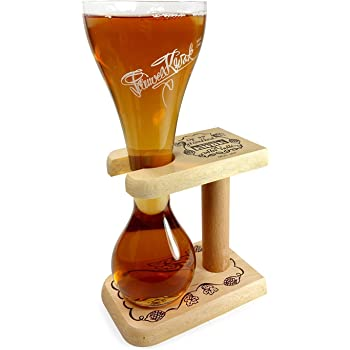 Pauwel Kwak Vaso de cerveza con soporte: Amazon.es: Hogar