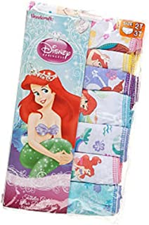 Disney Princess 7-Pack Ariel Panty Toddler Girl (2T-3T)