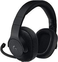 Logitech G433 - Auriculares con micrófono y Cable para Gaming, Sonido Envolvente, PC, Xbox One, PS4, Switch, Negro