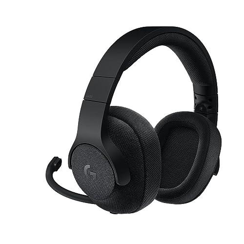 Logitech G433 - Auriculares con micrófono y Cable para Gaming (Sonido Envolvente, PC,