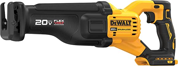 Serra alternativa sem fio Dewalt DCS386B 20V MAX sem escovas com tecnologia Flex Volt (somente ferramenta)
