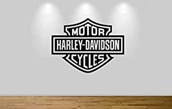 Harley Davidson Motorbike Wall Sticker Decal 1306