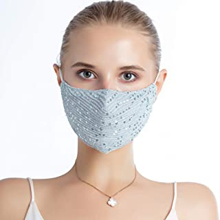 Women's Fashion Sequin Face Mask
