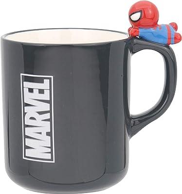 MARVEL(マーベル) KAWAII フィギュア付き マグ スパイダーマン SAN3037-3