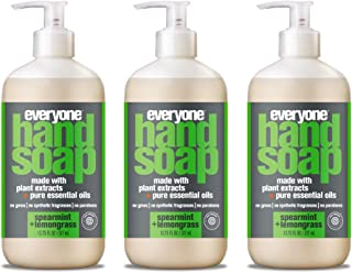Everyone Hand Soap: Spearmint and Lemongrass, 12.75 Ounce, 3 Count