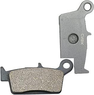 CNBK Rear Brake Pad Resin for HONDA Dirt Bike XR400 XR 400 R 96 97 98 99 00 01 02 03 04 05 1996 1997 1998 1999 2000 2001 2002 2003 2004 2005 1 Pair(2 Pads)