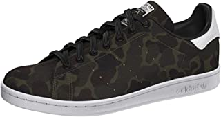 adidas Originals Mens Stan Smith Low Rise Casual Lace Up Trainers Shoes - Camo