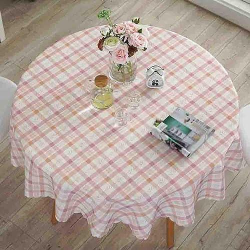Pastoral Tischdecken Hotel Home Esstisch Matte Wasserdicht Anti-Heiß , 002 , round 180cm
