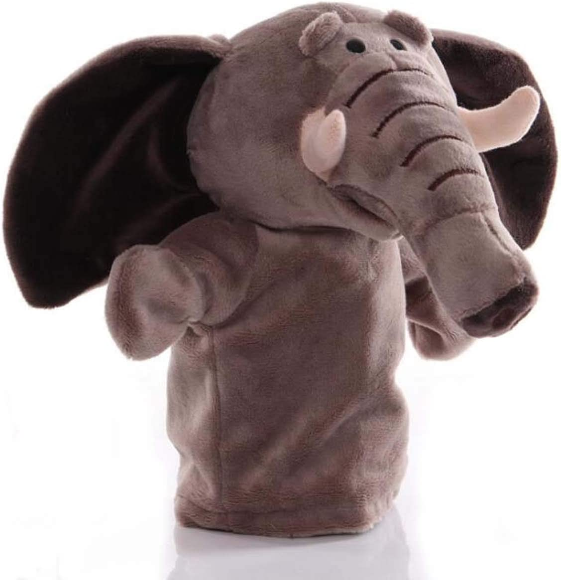 Now free shipping Elephant Hand Puppets Plush OFFicial mail order Animal for Imaginative Toys Pretend