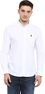 Red Tape Men's Solid Regular fit Casual Shirt (RSF9025A_White M)