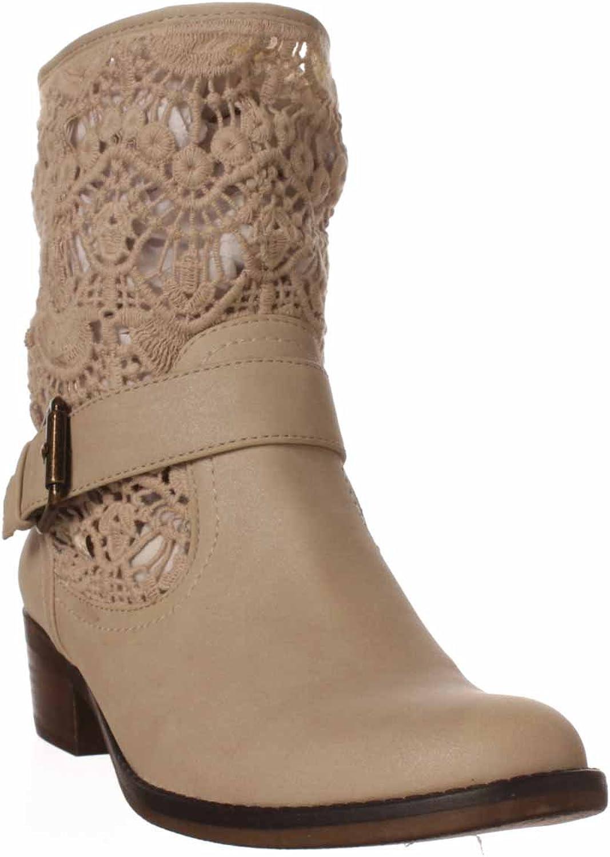 Baretraps Quinley Ankle Boot - Bone, 10 M