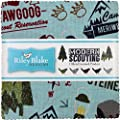 """Modern Scouting 5"""" Stacker 42 5-inch Squares Charm Pack Riley Blake Designs 5-6200-42"""
