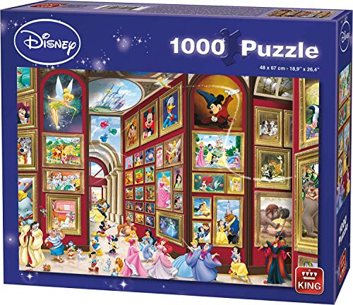 King- Disney Art Gallery - Puzzle (1000 Piezas) (55903)